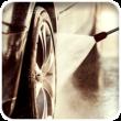 Tidal Wave Auto Spa Service: Hand Finish Tires & Rims