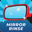 Tidal Wave Auto Spa Service: Mirror Rinse